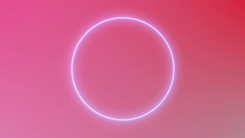 beautiful neon circles 4k - photo #31