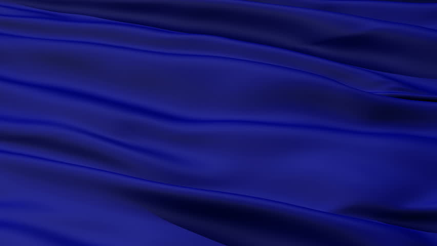A background of rippled and folded deep royal blue fabric material,seamless looping | Shutterstock HD Video #1510048