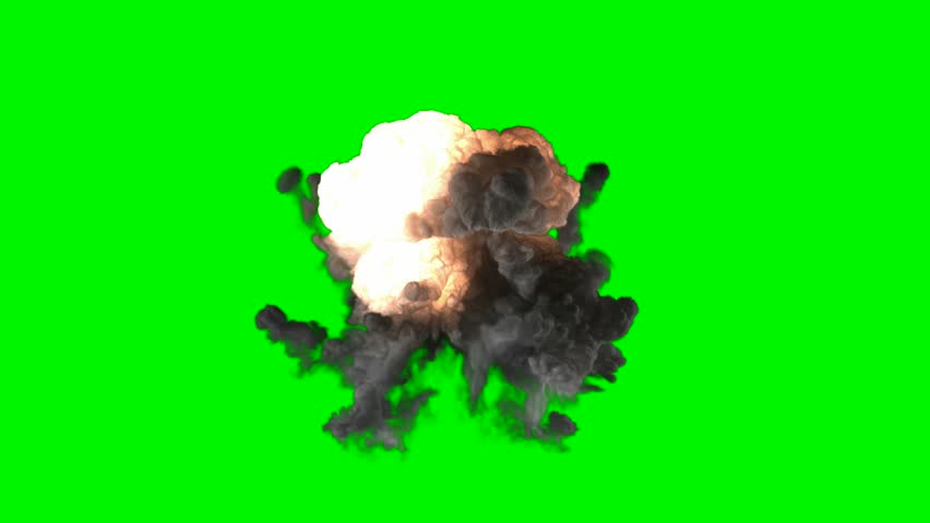 Chromakey Bomb Explosion Stock Footage Video (100% Royalty-free) 15226900 |  Shutterstock
