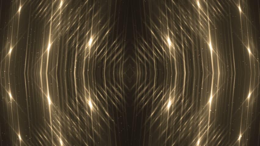 4k Disco Hypnotic Light Centerd Vj Loop Disco Effect: Hypnotic Golden Mandala Loopable