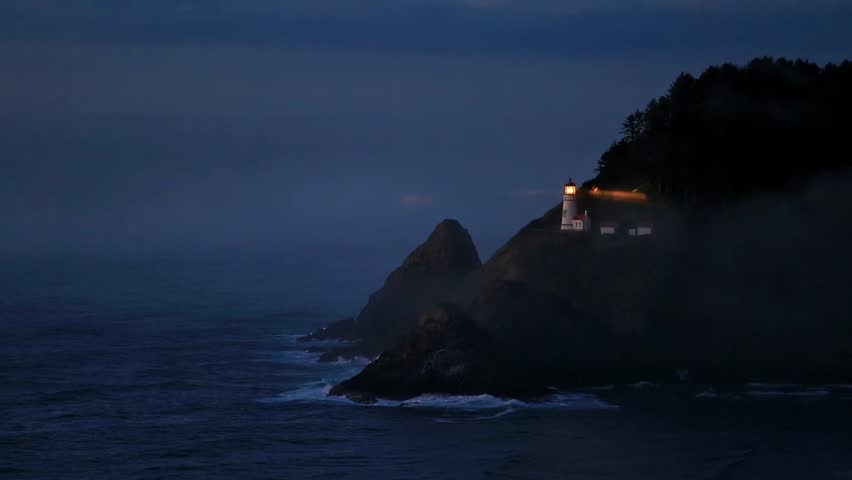 Heceta Lighthouse on Route 1 at the Oregon coast