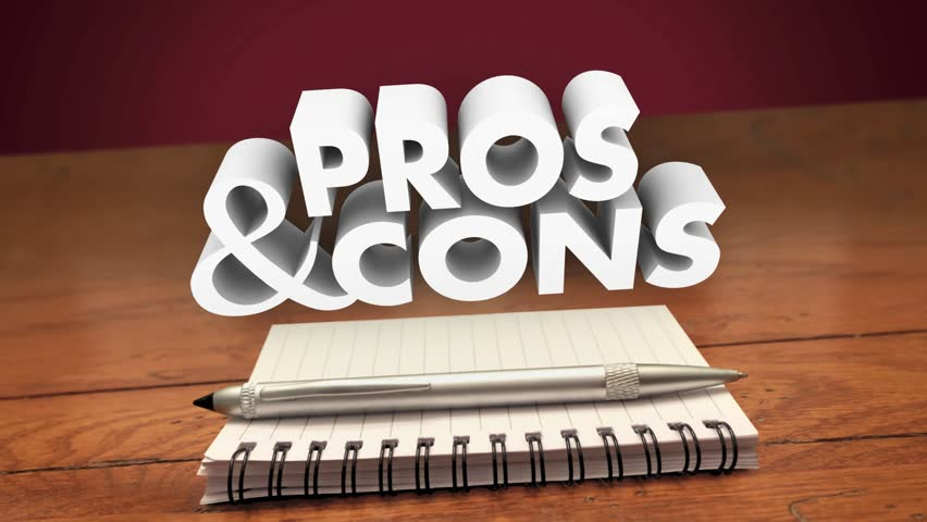 Pros and Cons Weighing Positives Negatives List Notepad Pen