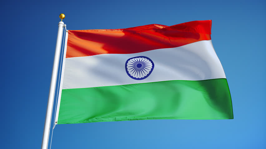 Indian Flag With Different Views: Indian National Tricolor Flag Hoisted On Independence Day