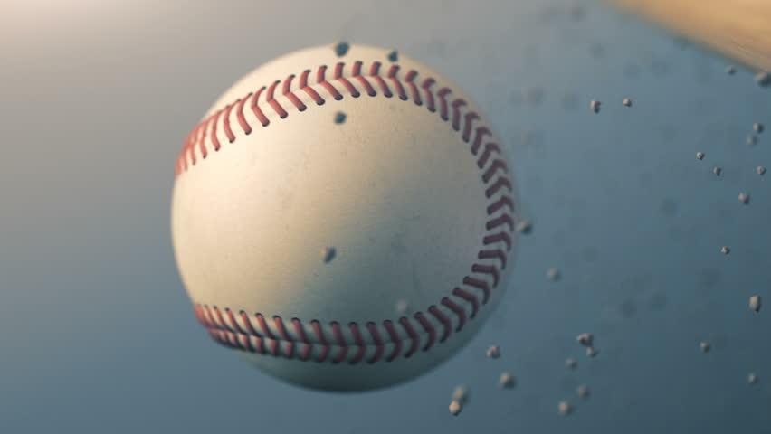 Baseball slow motion