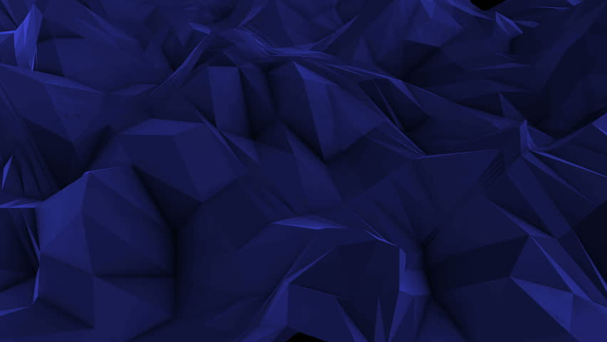 Abstract dark 3d rendered geometric background with spikes and low contrast texture, surface is devided into random sized triangles | Shutterstock HD Video #15390871