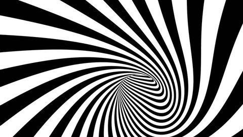 Hypnotic spiral tunnel seamless looping