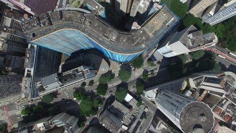 Top View of Sao Paulo Downtown, Brazil