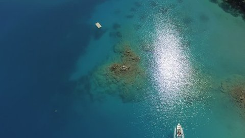 Oludeniz Turkey Aerial View