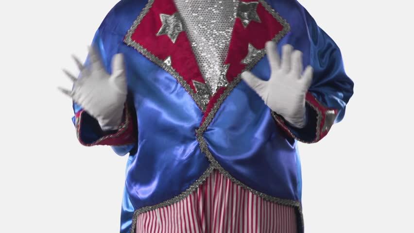 Uncle Sam Dancing & Gloating