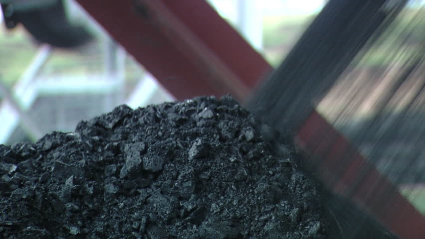 Header of coal