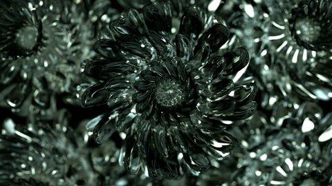 Obsidian Flower