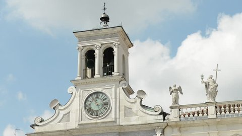 The Church of St George in Udine, Italy. The Church of St George in Udine is said to be built in 18th century. The bells sound like they were made in a perfectionist factory.