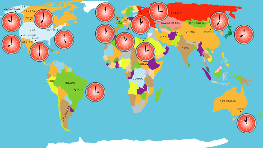 Stock video clip of time zone world time zone world time shutterstock gumiabroncs Gallery