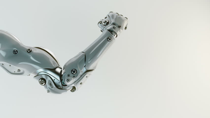 Gesturing Robotic Arm  3d Render Stock Footage Video (100% Royalty-free)  16387840 | Shutterstock