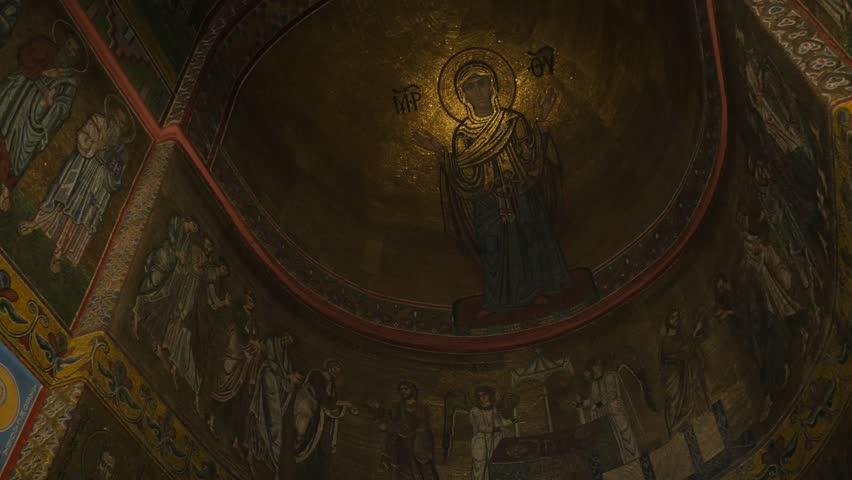 Kiev/ukraine - Nov 24 2015: Woman In The Saint Michael's Golden ...