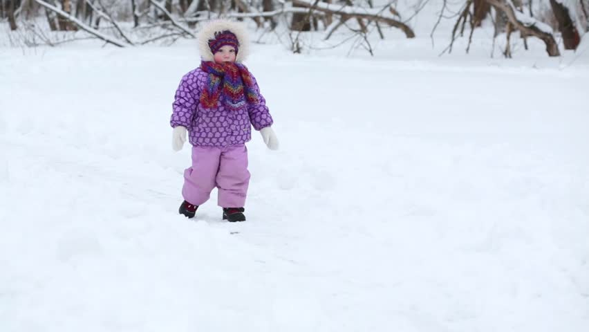 Image result for little girl in snow