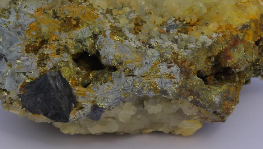 Header of arsenopyrite