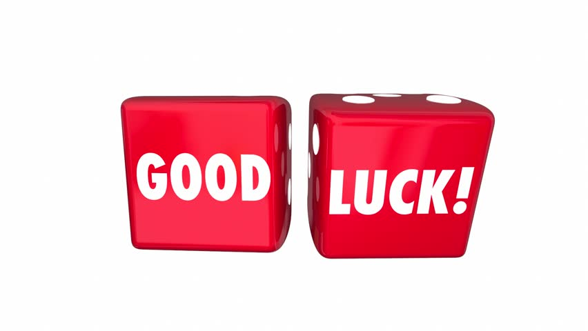Good Luck Wish Two Red Stock Footage Video 100 Royalty Free