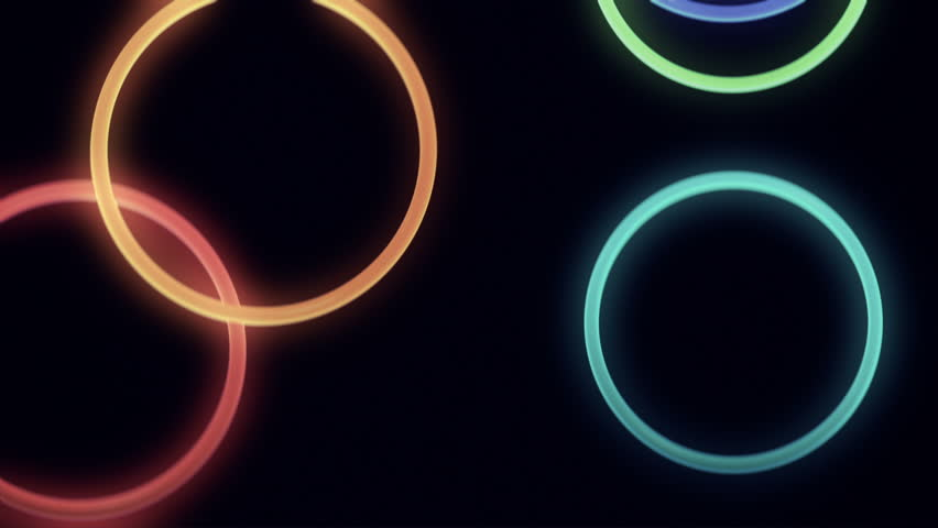electric circles free rings royalty image glowing vector neon colorful