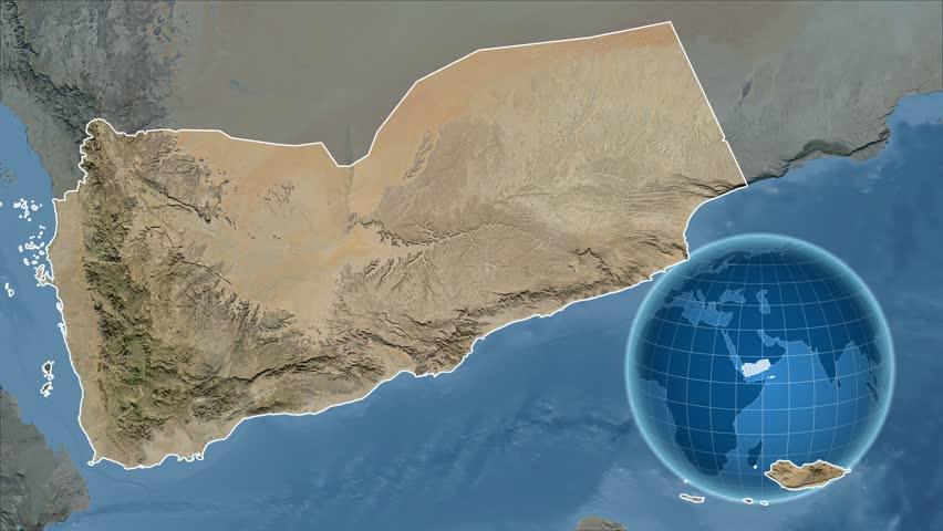 Yemen shape animated on the satellite map of the... on detailed map of yemen, road map of yemen, outline map of yemen, terrain map of yemen, political map of yemen, physical map of yemen, topographic map of yemen,
