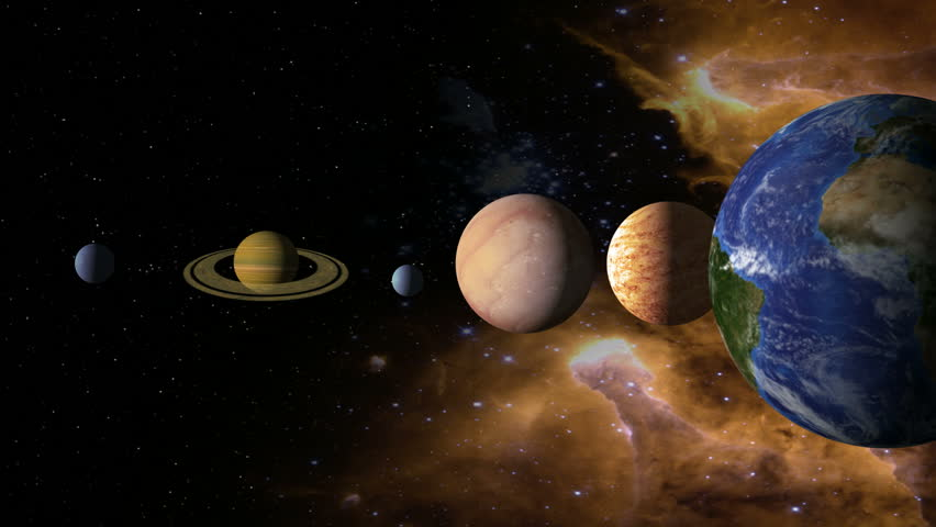 Solar System 2 - Images Courtesy of NASA