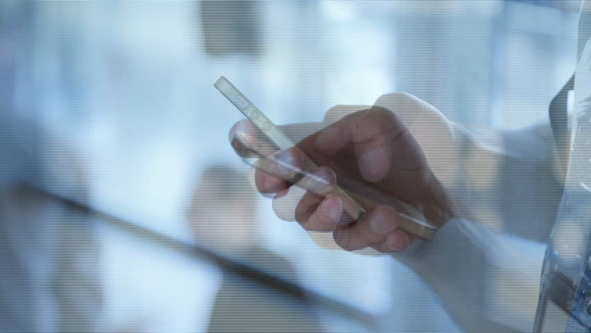 Businessman or executive man hands using smartphone | Shutterstock HD Video #17314672