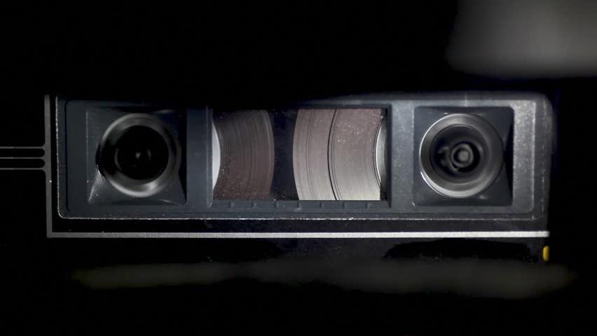Audio Cassette Tape Rewinding