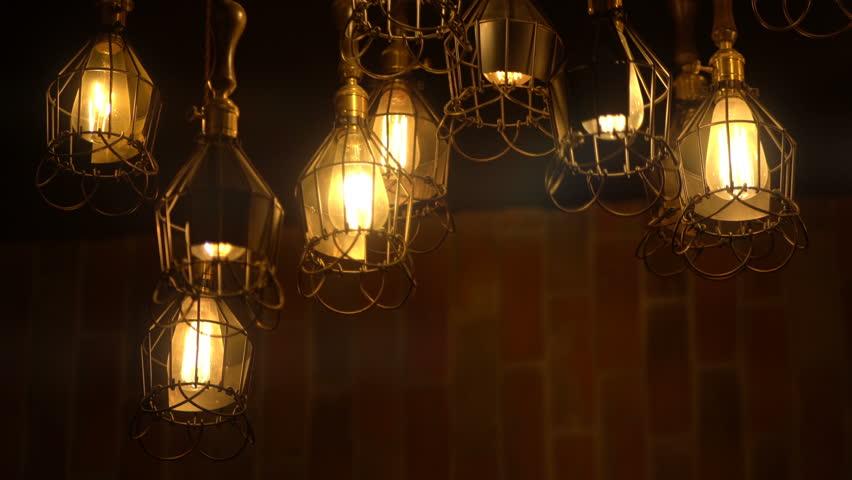 Retro Light Bulb Lighting Series Stock Footage Video 100 Royalty Free 17410150 Shutterstock