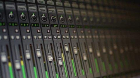 Recording Studio - Control Room - Recording Software