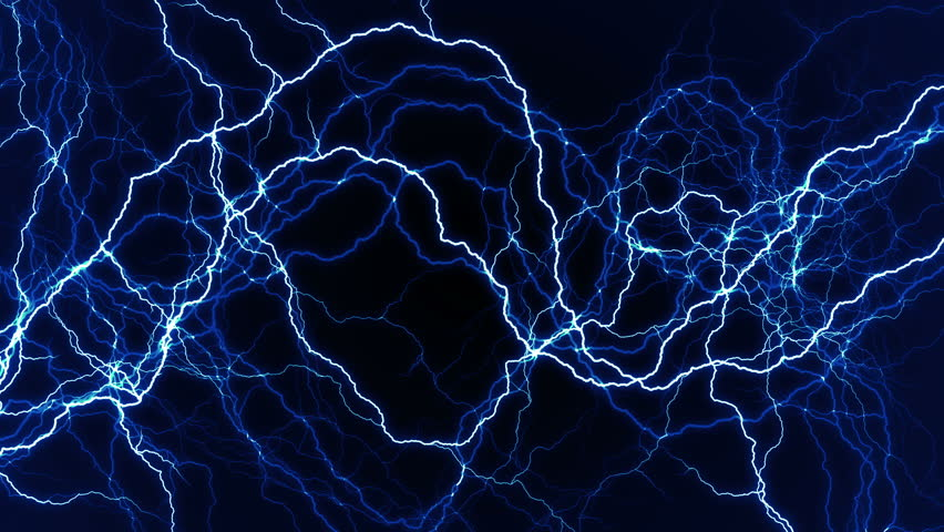 Lightning Magnetic Field. Stock Footage Video 4015483 ...