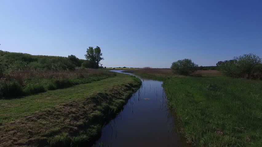 Flight over vorpommern - germany by drone   Shutterstock HD Video #17779420