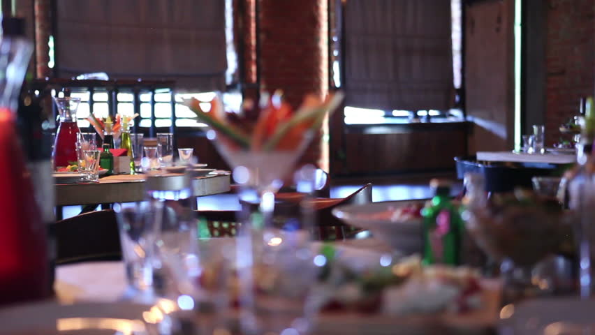 Restaurant Kitchen Video motion chefs of a restaurant kitchen stock footage video 5285252