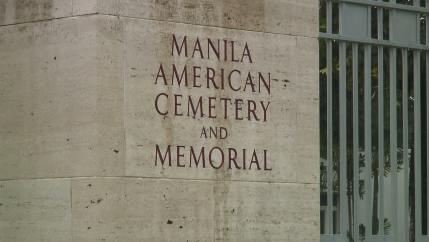 Scenery From Manila American Cemetery Manila, Philippines