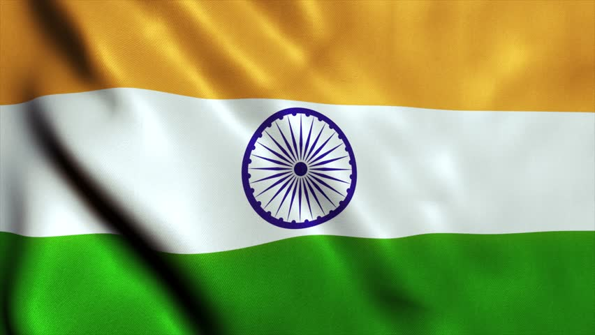 For Indian Flag Hd Animation: Indian Flag Waving With Room For Text, Logos, Graphics And
