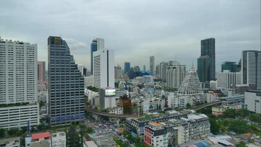 4K Time lapse Bangkok city in Thailand | Shutterstock HD Video #18066760