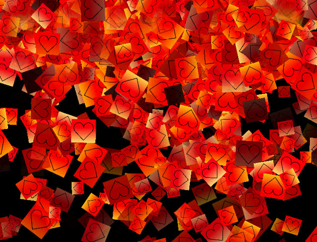 This is a set of loving hearts for romantic concepts. | Shutterstock HD Video #1810