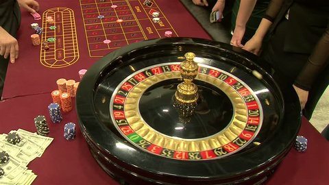 Roulette game.