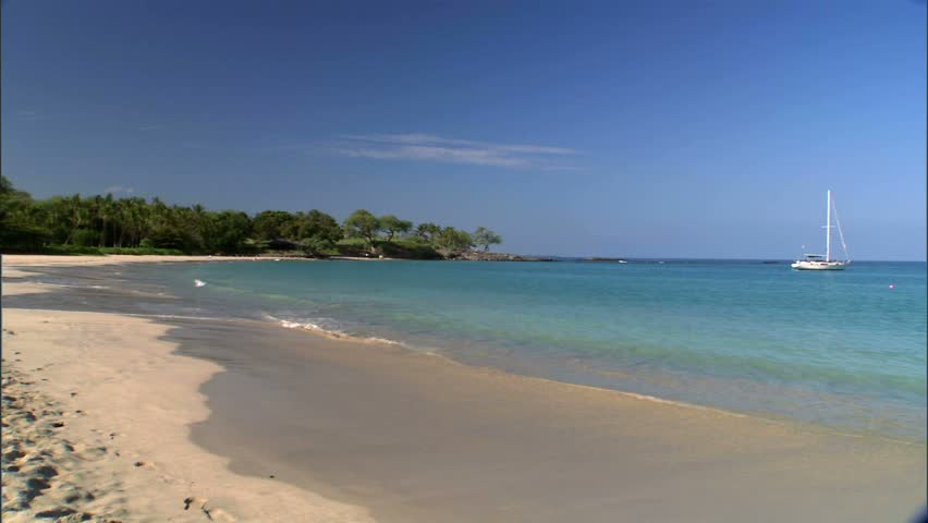 Mauna Kea Beach Resort Shoreline Stock Footage Video 100 Royalty Free 1822610 Shutterstock