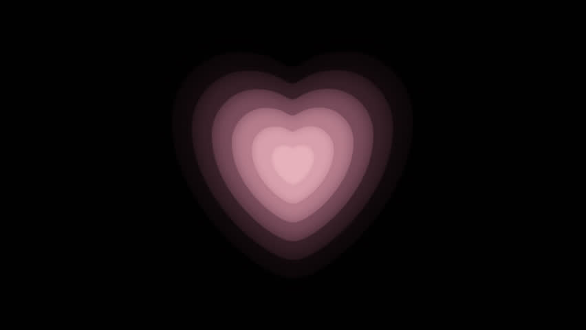 Heart Continuous expansion CG pink   Shutterstock HD Video #18379090