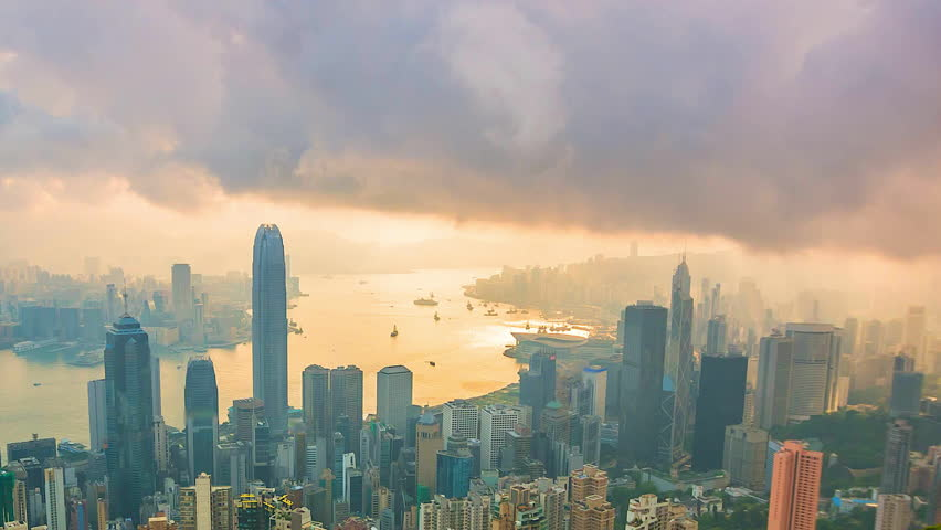 4K. Time lapse Hong Kong City | Shutterstock HD Video #18405310