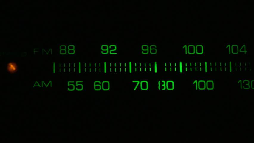 Backlit retro analog radio dial | Shutterstock HD Video #1846480