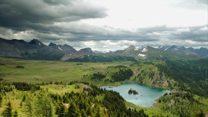 Rocky Mountain Alpine Storm Timelapse