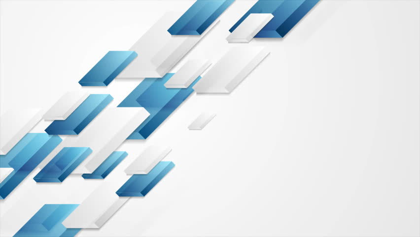 Abstract Tech Corporate Motion Background Stock Footage