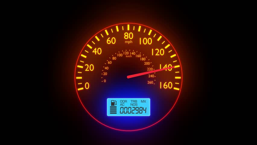 Speedometer Fast Car Automobile Speed Stock Footage Video (100%  Royalty-free) 18699050 | Shutterstock