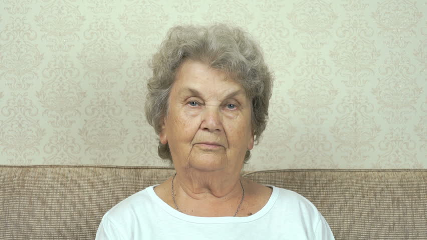 Portrait of serious senior woman with harsh look | Shutterstock HD Video #18869456