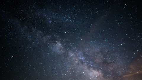 Milky Way Galaxy Time Lapse 33 Mojave Desert California