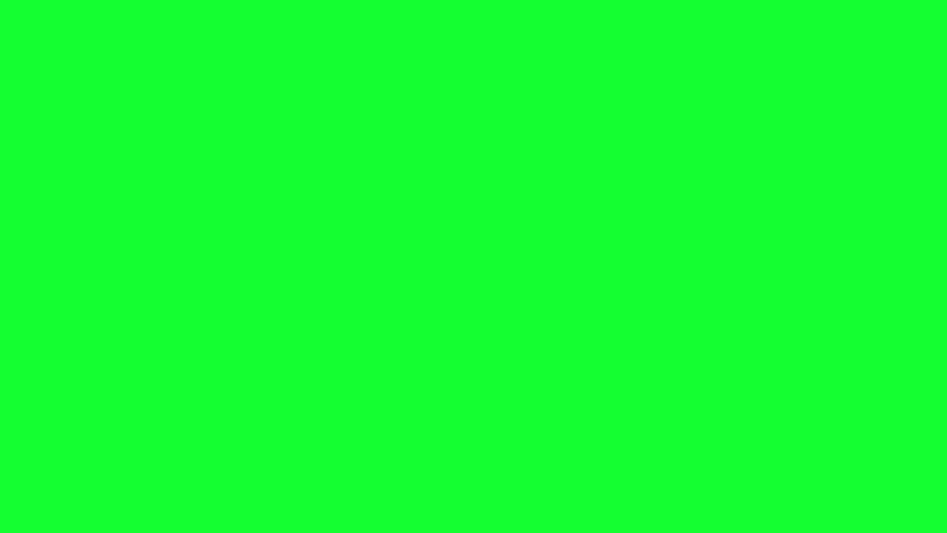 4 Animated Green Screen Text THANK YOU