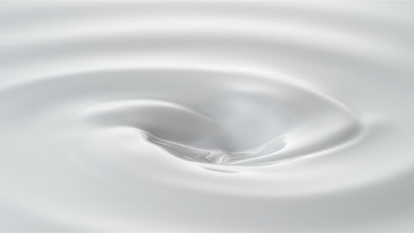 Milk droplets falling into swirl of milky liquid. Shot with high speed camera, phantom flex 4K. Slow Motion. Unedited version is included at the end of clip. | Shutterstock HD Video #19045960