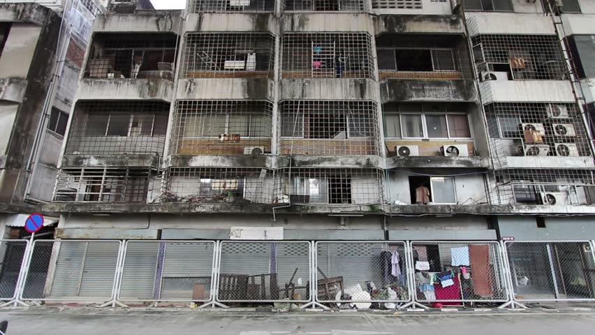 An Apartment In A Slum Neighbour Of Bangkok