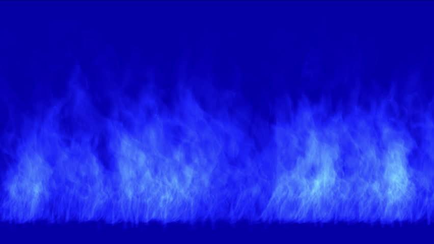4k Blue fire,flame burning gas light backdrop,energy heat hot passion background. 5379_4k